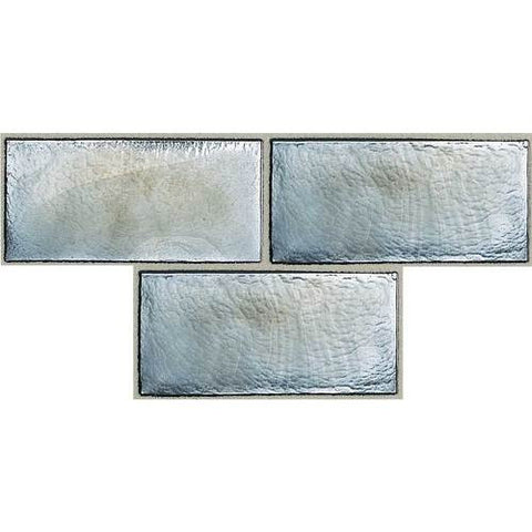 "Daltile Cristallo Select 3"" x 6"" Hematite Floor Tile"
