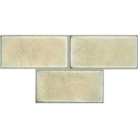 "Daltile Cristallo Select 3"" x 6"" Cinnamon Topaz Floor Tile"