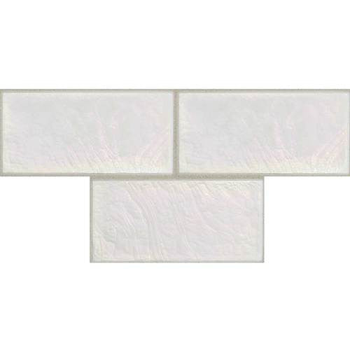 "Daltile Cristallo Select 3"" x 6"" Mother Of Pearl Floor Tile - American Fast Floors"