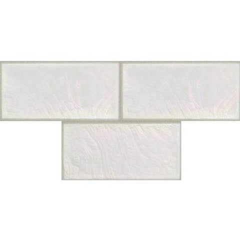 "Daltile Cristallo Select 3"" x 6"" Mother Of Pearl Floor Tile"