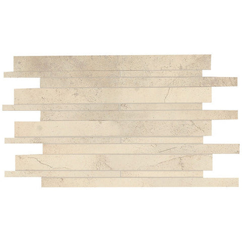 American Olean Costa Rei 12 x 20 Sabbia Dorato Interlocking Wall Tile