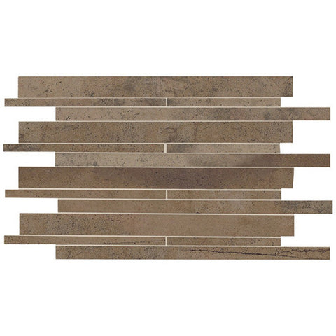 American Olean Costa Rei 12 x 20 Terra Marrone Interlocking Wall Tile