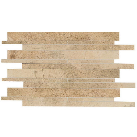 American Olean Costa Rei 12 x 20 Oro Miele Interlocking Wall Tile