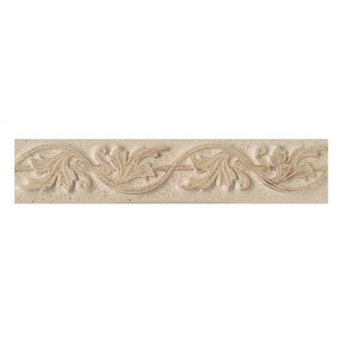American Olean Costa Rei 2 x 10 Oro Miele Leaf Accent Strip - American Fast Floors
