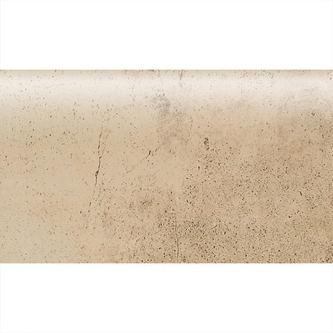 "American Olean Costa Rei 2 x 6 Oro Miele Wall Surface Bullnose - 6"" Side"