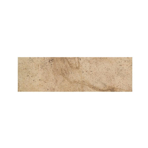 "American Olean Costa Rei 3 x 10 Oro Miele Wall Surface Bullnose - 10"" Side"