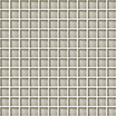 "Daltile Color Wave 1"" x 1"" Silver Mink Mesh Mounted Wall Tile - American Fast Floors"