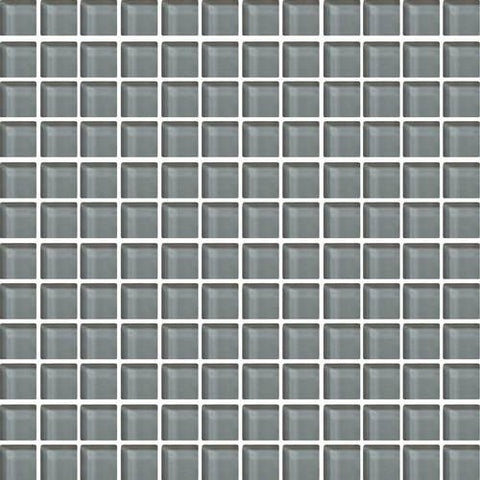 "Daltile Color Wave 1"" x 1"" Top Hat Mesh Mounted Wall Tile"
