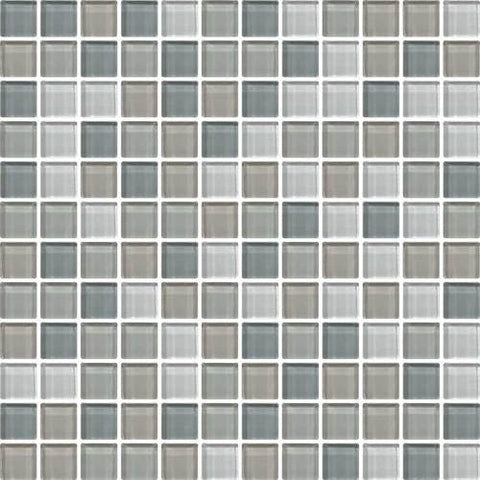 "Daltile Color Wave 1"" x 1"" Willow Waters Blend Blend Mosaic Wall Tile"