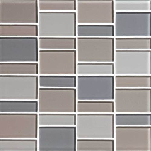 "Daltile Color Wave 12"" x 12"" Willow Waters Blend Random Block Blend Mosaic Tile - American Fast Floors"