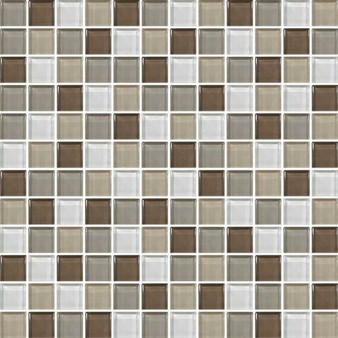 "Daltile Color Wave 1"" x 1"" Downtown Oasis Blend Blend Mosaic Wall Tile - American Fast Floors"