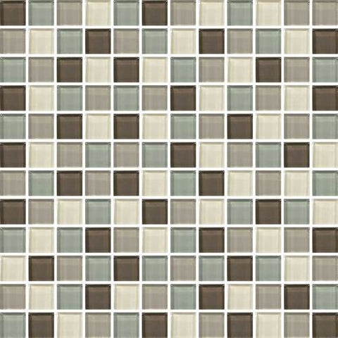 "Daltile Color Wave 1"" x 1"" Sweet Escape Blend Blend Mosaic Wall Tile - American Fast Floors"