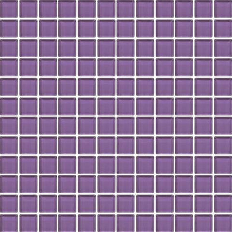 "Daltile Color Wave 1"" x 6"" Purple Magic Straight-Joint Mosaic Tile"