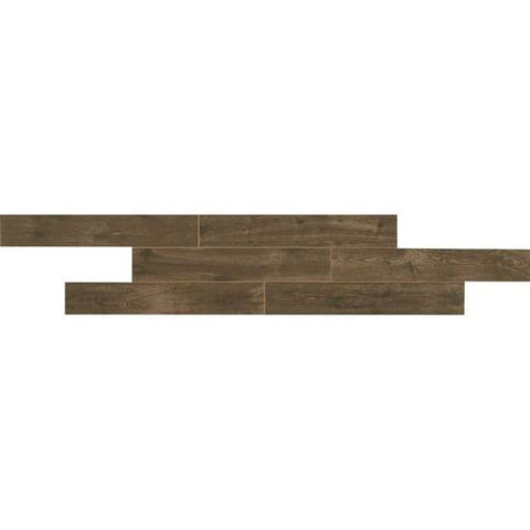 American Olean Creekwood 6 x 36 Walnut Brook Floor Tile