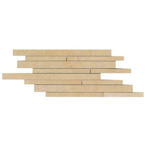 "Daltile City View 9"" x 18"" District Gold Random Linear Brick Joint - American Fast Floors"