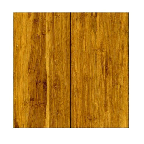 Solid Strand Woven Bamboo Tongue & Groove Carbonized Hand-Scraped - American Fast Floors