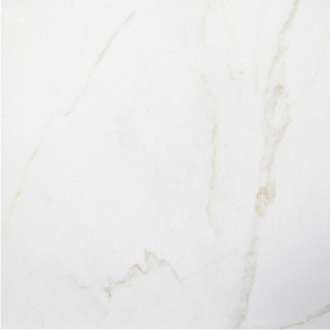 "Carrara HD 12""X12"" Blanco Floor Tile"