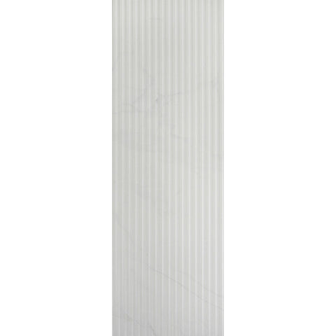 "Carrara 12""X36"" Rectified Suite Lines Blanco Wall Tile"