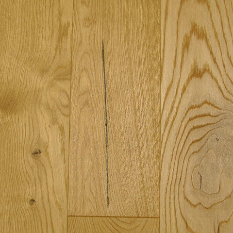"Mullican Castillian 7"" White Oak Castlerock Natural Engineered Hardwood"