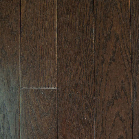 "Mullican Oak Pointe 2-1/4"" Oak Chocolate Solid Hardwood - American Fast Floors"