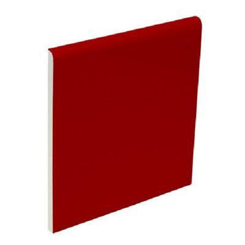 "Color Collection Bright 2""X2"" Red Pepper Radius Cap Angle - American Fast Floors"