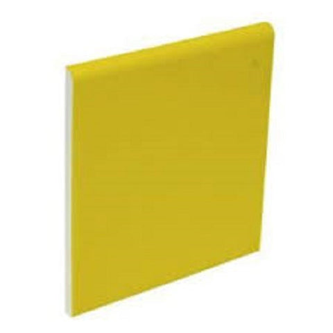 "Color Collection Bright 2""X6"" Mustard Radius Cap - American Fast Floors"