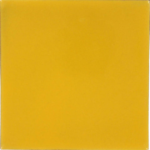 "Color Collection Bright 3""X10"" Mustard Surface Bullnose - American Fast Floors"