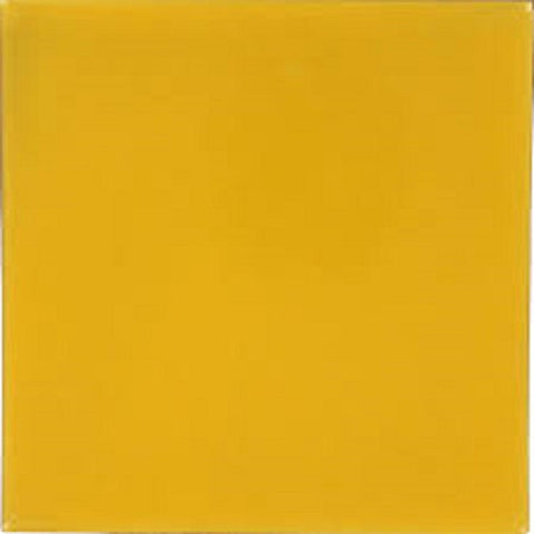 "Color Collection Bright 3""X3"" Mustard Surface Bullnose Angle"