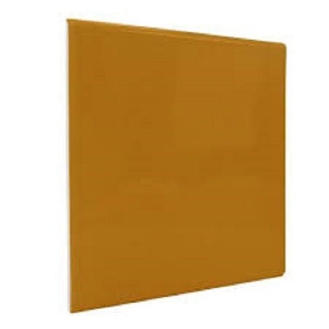 "Color Collection Bright 3X6 6"" Mustard Surface Bullnose"