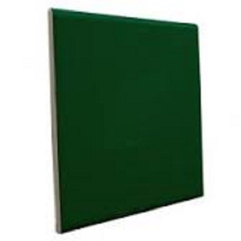"Color Collection Bright 3X6 6"" Kelly Green Surface Bullnose"