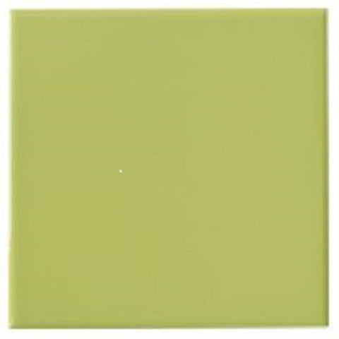 "Color Collection Bright 4-1/4""X4-1/4"" Spring Green Left Cove Angle - American Fast Floors"