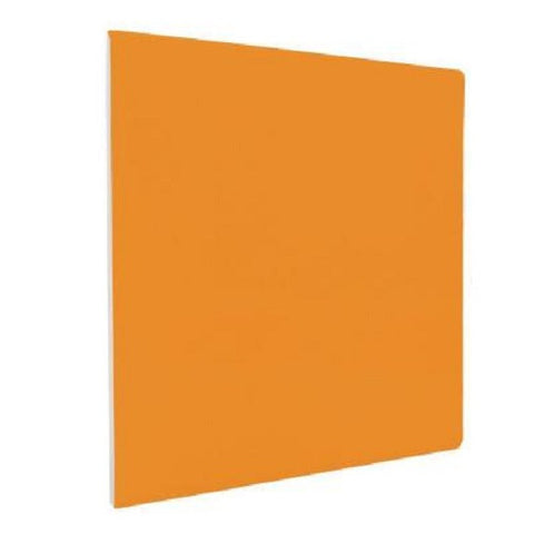 "Color Collection Bright 4-1/4""X4-1/4"" Tangerine Surface Bullnose Angle - American Fast Floors"