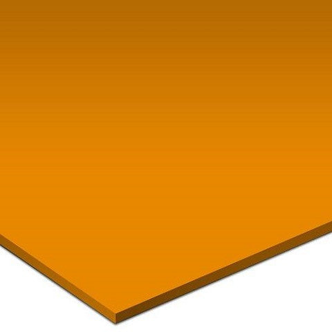 "Color Collection Bright 4-1/4""X4-1/4"" Tangerine Surface Bullnose"