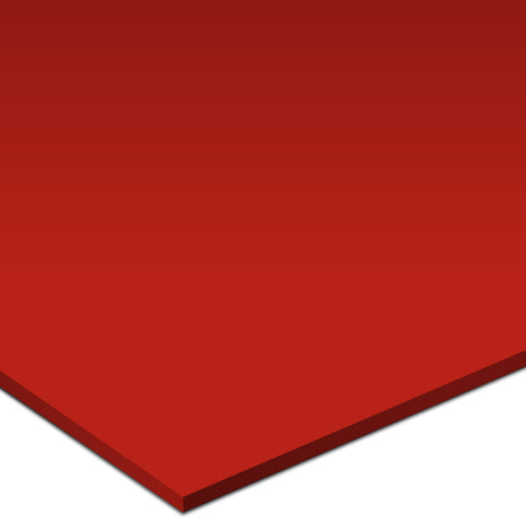 "Color Collection Bright 4-1/4""X4-1/4"" Red Pepper Wall Tile"