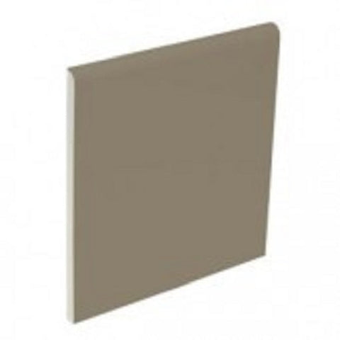 "Color Collection Bright 6""X6"" Cocoa Surface Bullnose - American Fast Floors"