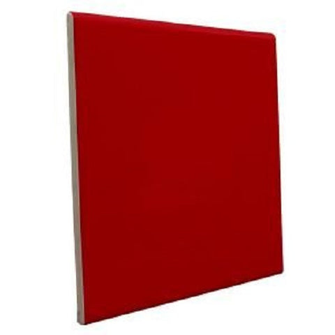 "Color Collection Bright 6""X6"" Red Pepper Surface Bullnose - American Fast Floors"