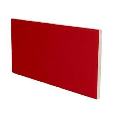 "Color Collection Bright 4-1/4""X4-1/4"" Red Pepper Surface Bullnose Angle - American Fast Floors"