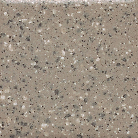 "Daltile Keystones 1"" x 1"" Uptown Taupe Speckle Cap"