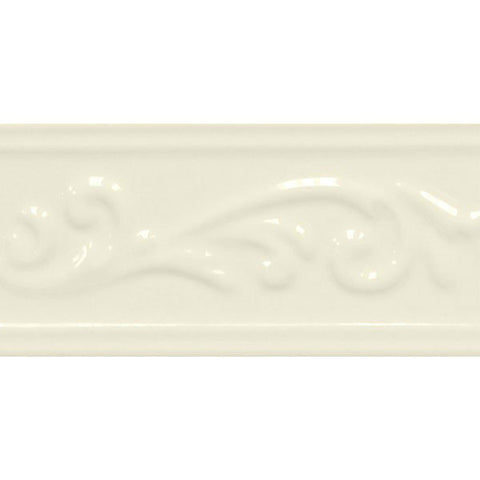 "Decorative Accents 3""X6"" Biscuit Ivy Listel - American Fast Floors"