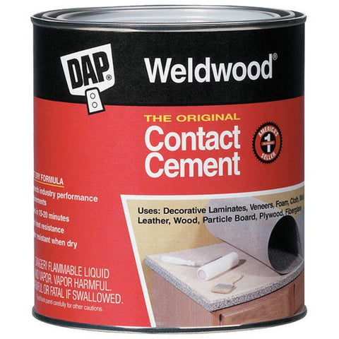 Weldwood Original Contact Cement - 1 Gallon - American Fast Floors