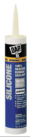 Silicone Sealant Almond - 10.1 Oz - American Fast Floors