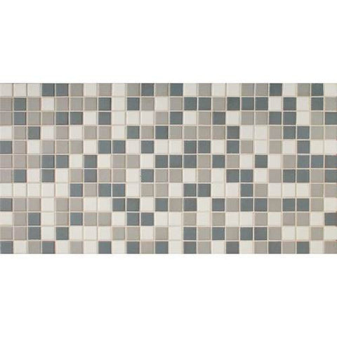 "Daltile Keystones 11-7/8"" x 23-7/8"" Moonlight Blend Mosaic"