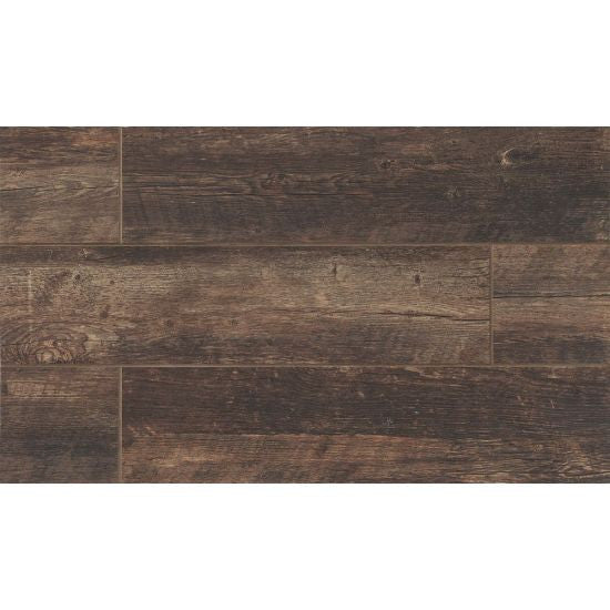 Bedrosians Barrel Porcelain Tile Color Vine 6x24