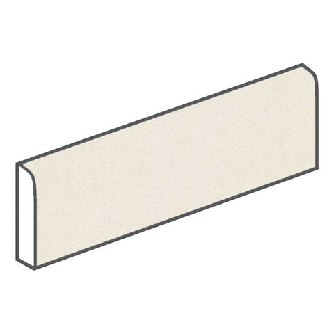 American Olean Decorum 3 x 12 Ideal White Bullnose - American Fast Floors