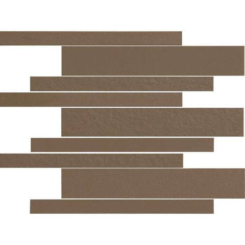 American Olean Decorum 12 x 12 Formal Brown Modern Liner