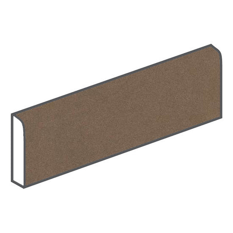 American Olean Decorum 3 x 12 Formal Brown Bullnose