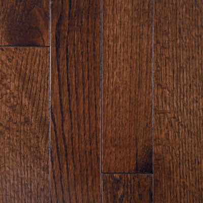 "Mullican Muirfield 5"" Oak Dark Chocolate Solid Hardwood"