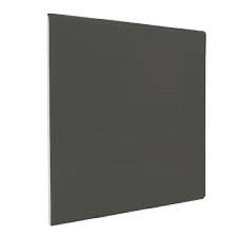 "Color Collection Bright 4-1/4""X4-1/4"" Dark Gray Surface Bullnose"