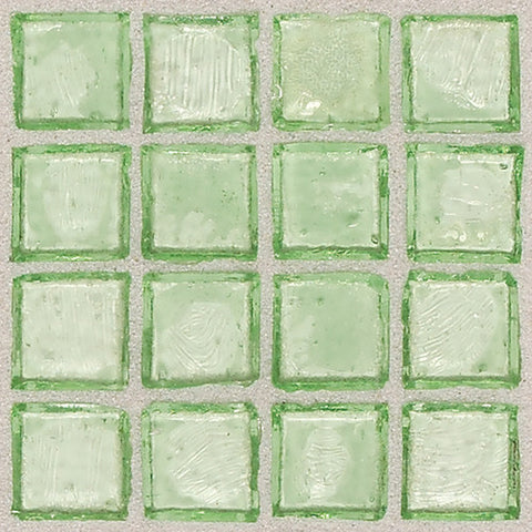 "Daltile Egyptian Glass 12"" x 12"" Palm Mosaic - American Fast Floors"