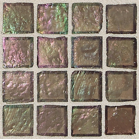 "Daltile Egyptian Glass 12"" x 12"" Myrrh Mosaic - American Fast Floors"